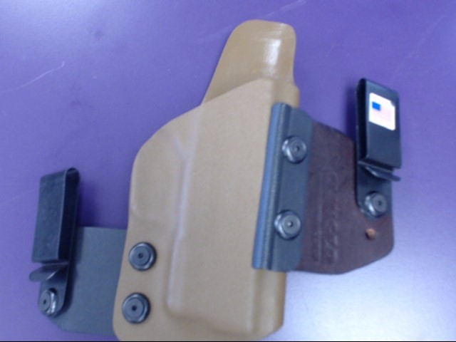 "Clinger Holster ""NO PRINT WONDER""  IWB Inside Waist M&P 40"