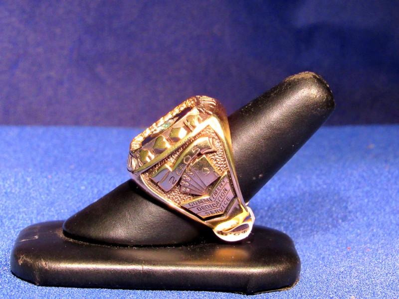 Nevada Palace Casino 41.3g 10kt Diamond Ring