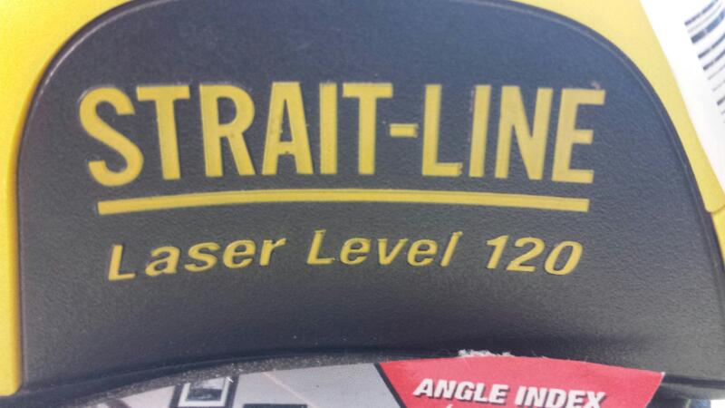 STRAIGHT LINE 120; STRAIGHT LINE LASER LEVEL