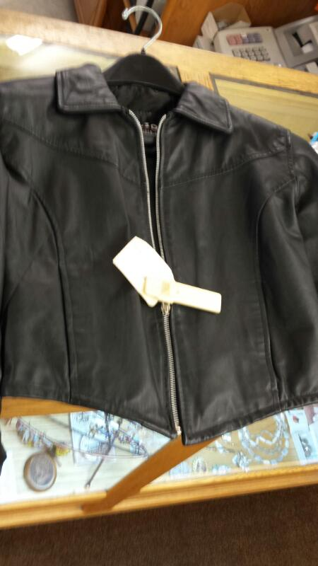 JACKET USED LEATHERS CYCLE-LEATHERS CYCLE-LEATHERS WILSON S; SMALL SHORT LEATHER