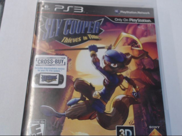 SLYCOOPER PS3 GAME