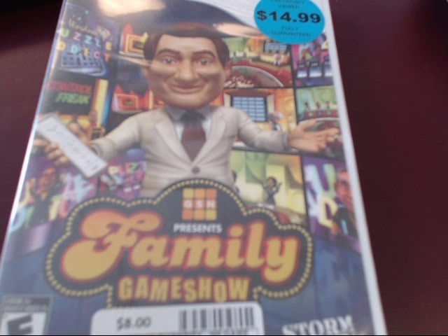 NINTENDO WII FAMILY GAME SHOW