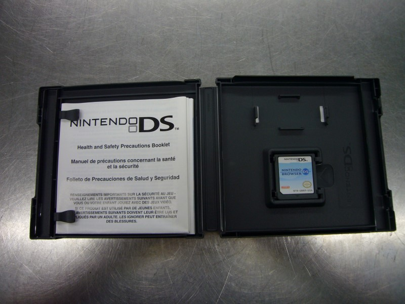 NINTENDO DS Game DS BROWSER