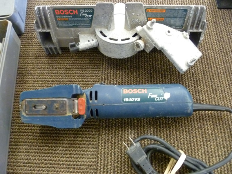 BOSCH FINE CUT RECIPROCATING SAW 1640VS