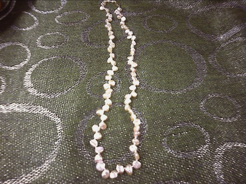 PEARLS JEWELRY JEWELRY; FRESHWATER PEARLS WITH 14K CLASP