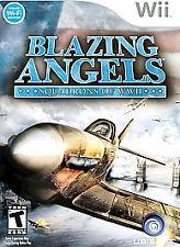 NINTENDO WII BLAZING ANGELS WII GAMES