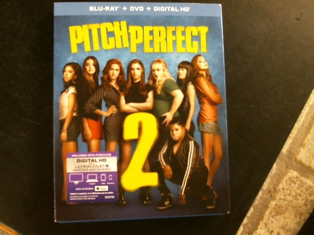 BLU-RAY MOVIE Blu-Ray PITCH PERFECT