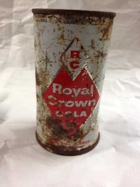1950'S ERA ROYAL CROWN COLA CAN ALASKA