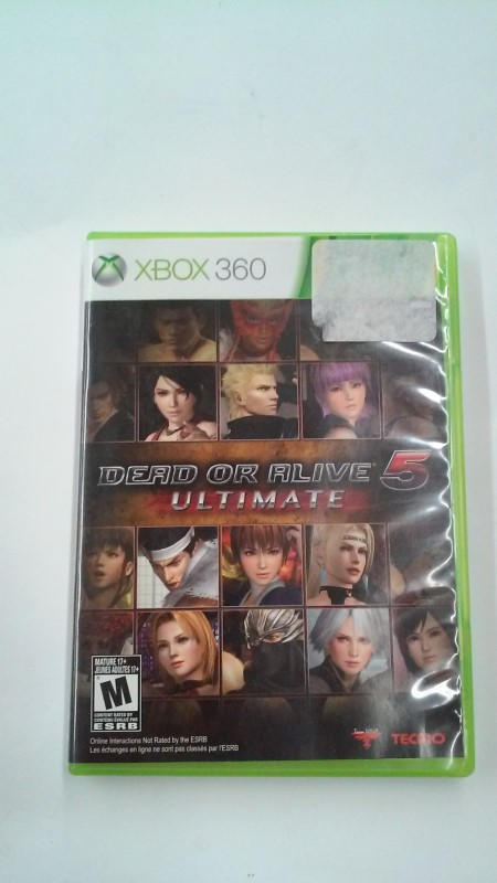 MICROSOFT Microsoft XBOX 360 Game DEAD OR ALIVE 5 ULTIMATE