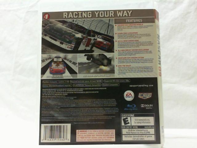 SONY Sony PlayStation 3 Game NASCAR 2009