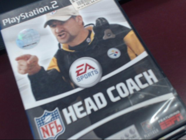 SONY PS2 EA SPORTS HEAD COACH
