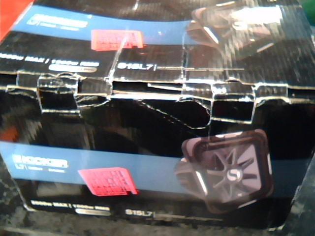 KICKER Car Speakers/Speaker System S15L7