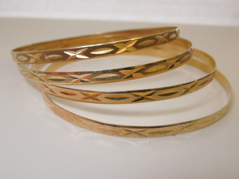 Gold Bracelet 14K Yellow Gold 24g