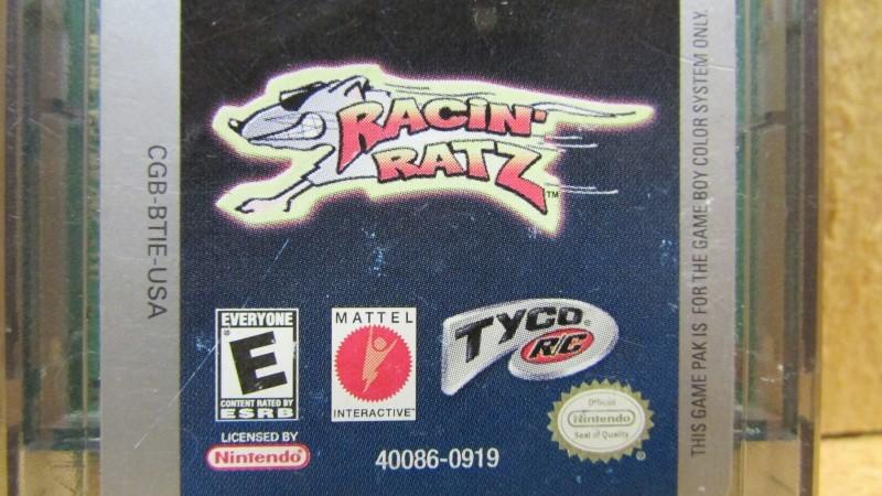 NINTENDO Vintage Game RACIN' RATS GAMEBOY COLOR