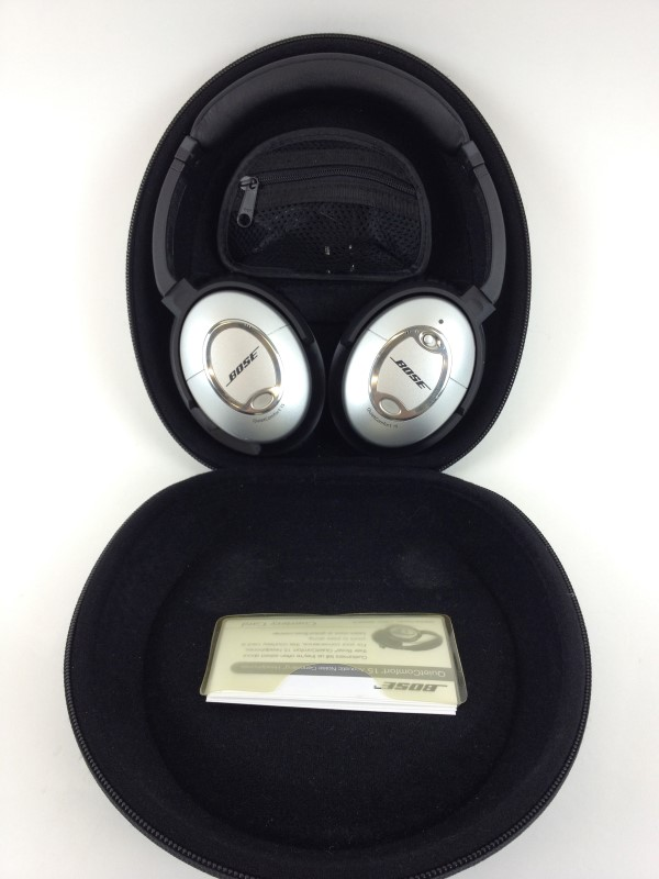 BOSE QC-15 Noise Canceling Headphones