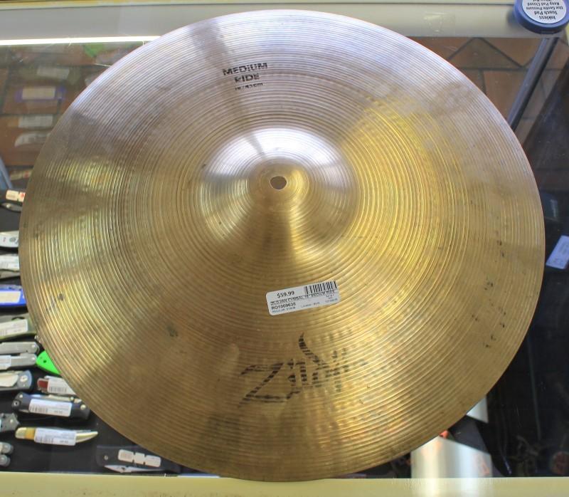 """ZILDJIAN Cymbal 18"""" MEDIUM RIDE"""