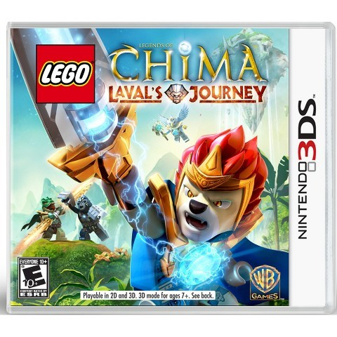 NINTENDO Nintendo 3DS Game LEGO CHIMA LAVAL'S JOURNEY