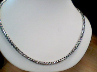 Gold Chain 18K White Gold 79.9g