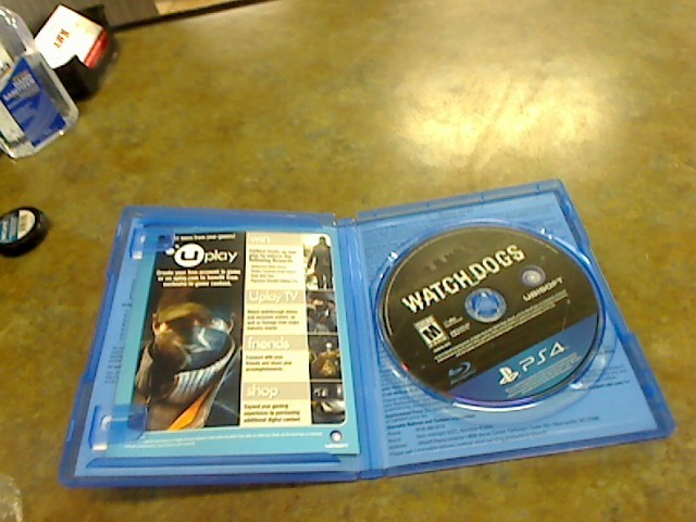 SONY Sony PlayStation 4 Game WATCH DOGS - PS4