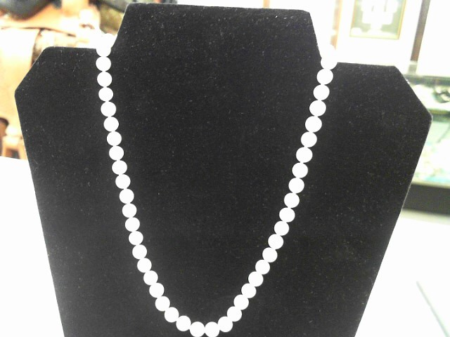 PEARL NECKLACE 17""