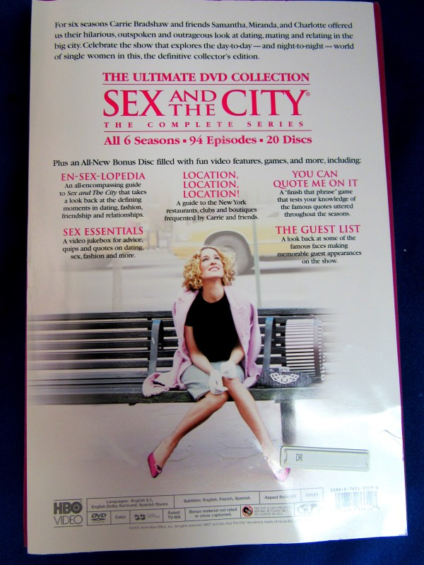 SEX IN THE CITY: COMPLETE SERIES DVD