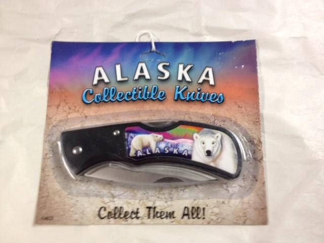 ALASKA COLLECTIBLE POLAR BEAR KNIFE
