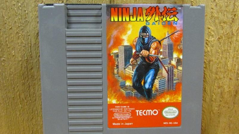 NINTENDO Nintendo NES Game NINJA GAIDEN NES