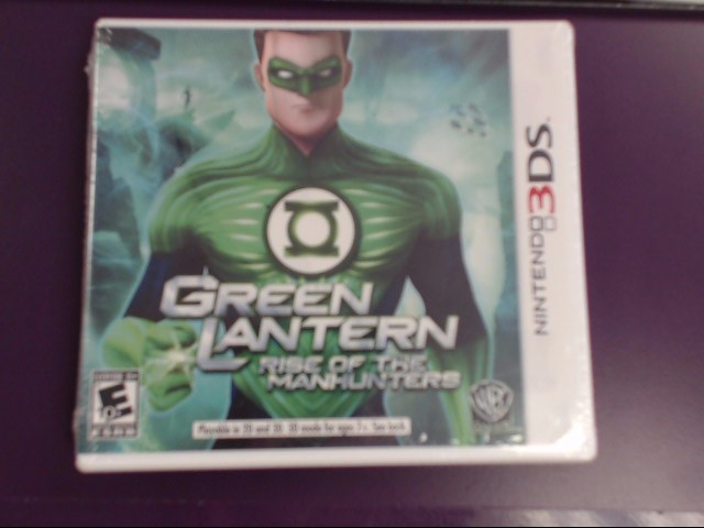 NINTENDO 3DS GREEN LANTERN RISE OF THE MANHUNTERS