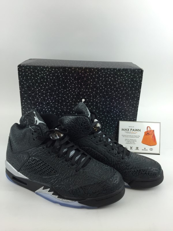 NIKE AIR JORDAN RETRO 5 3LAB5 METALLIC