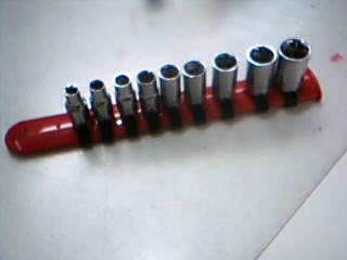 AUTOCRAFT Sockets/Ratchet SOCKET SET