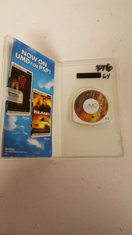 Sony PSP UMD Movie Video The Island for PlayStation Portable PSP FREE SHIPPING