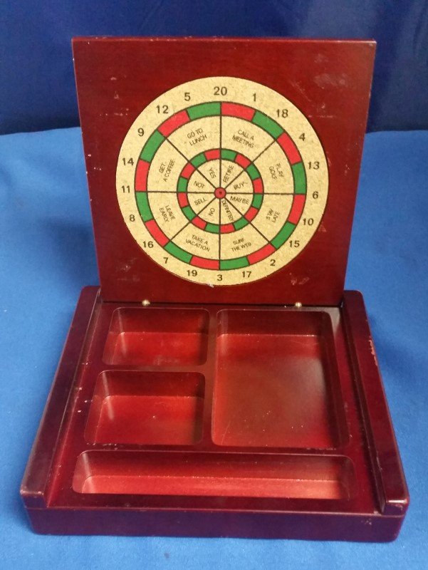 DART BOARD KNICK KNACK HOLDER