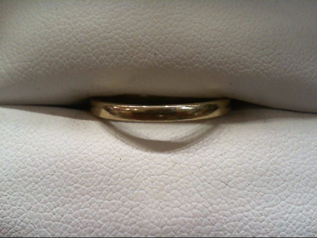 Lady's Gold Wedding Band 14K Yellow Gold 1.7g