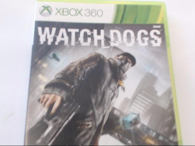 XBOX 360 WATCHDOGS