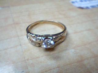 Lady's Diamond Wedding Set .65 CT. 14K 2 Tone Gold 4.3g Size:10.5