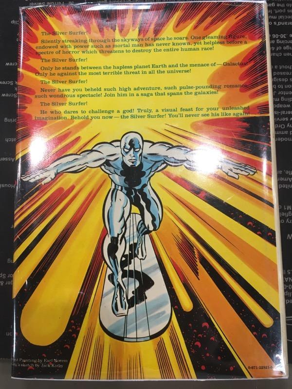 MARVEL COMICS Comic Book SILVER SURFER