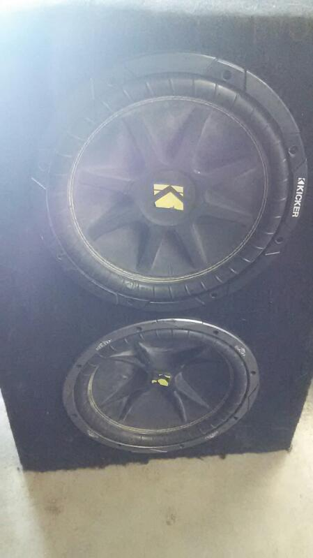 "Dual Kicker 12"" In Box"