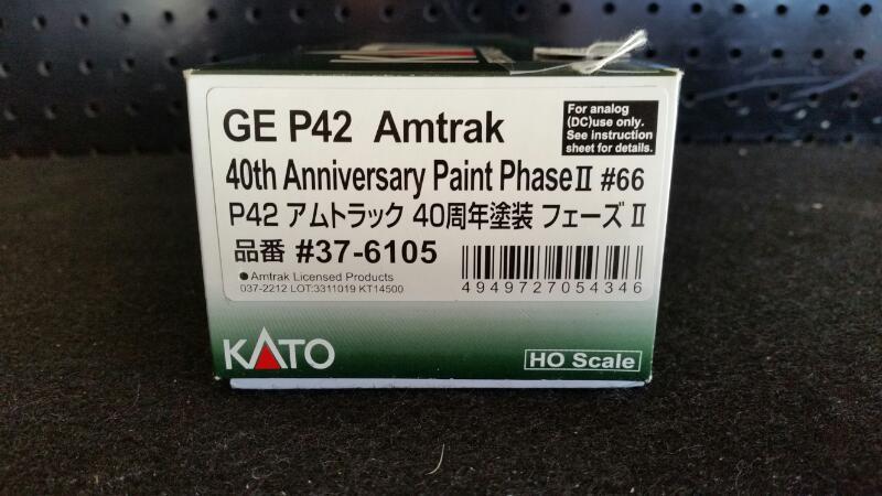 KATO TRAINS GE P42 40TH ANNIVERSARY #66]