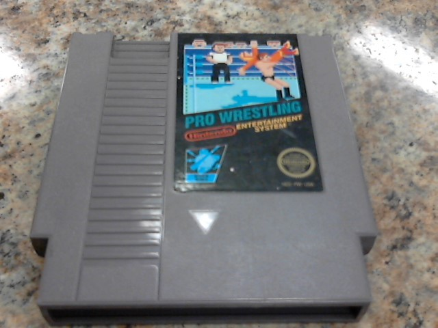 NINTENDO Nintendo NES Game PRO WRESTLING