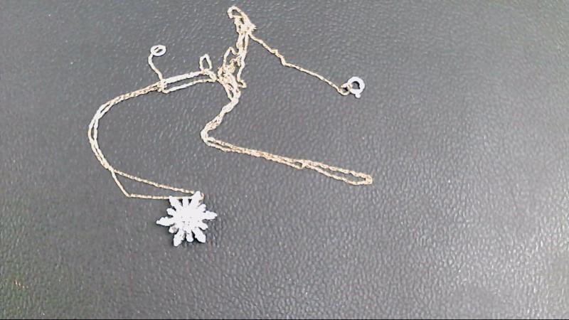Gold-Multi-Diamond Pendant 25 Diamonds .25 Carat T.W. 10K Yellow Gold 2g