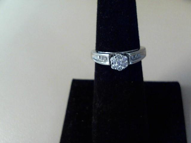 Lady's Diamond Engagement Ring 13 Diamonds .27 Carat T.W. 14K Yellow Gold
