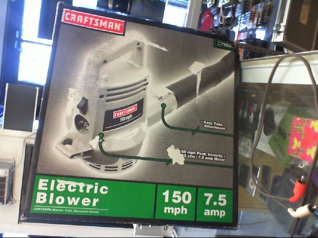 CRAFTSMAN Leaf Blower ELECTRIC BLOWER