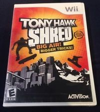 NINTENDO WII WII TONY HAWK SHRED