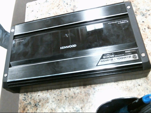 KENWOOD Car Amplifier X450-4