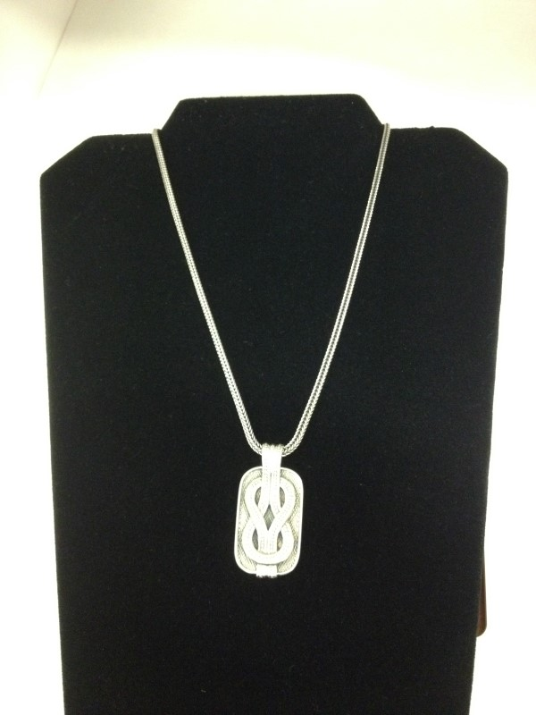 """Konstantino Sterling Silver Pendant with 18"""" Chain"""