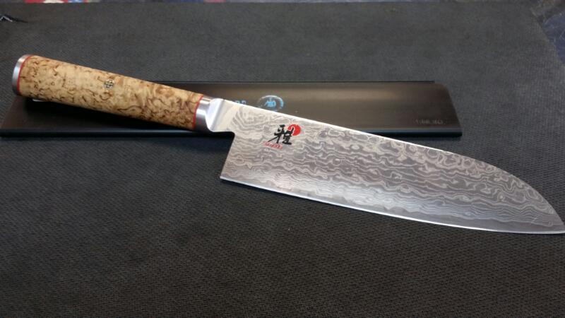 """MIYABI 7"""" SANTOKU KNIFE 5000MCD"""
