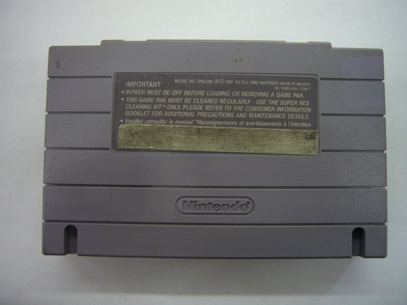 NINTENDO SNES Game COLLEGE SLAM *CARTRIDGE ONLY*