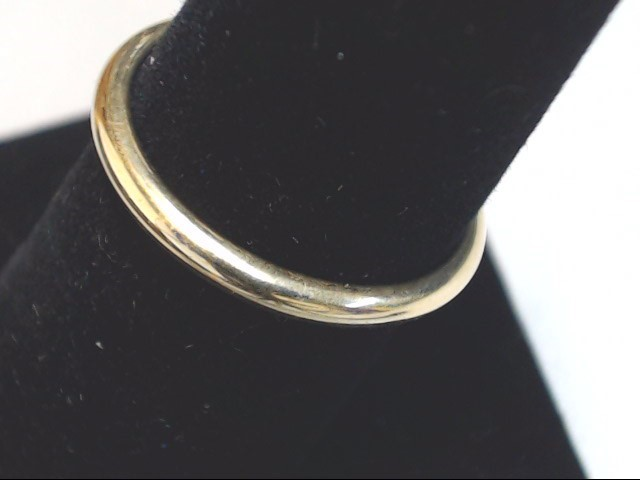 Lady's Gold Wedding Band 14K Yellow Gold 2.2g Size:8