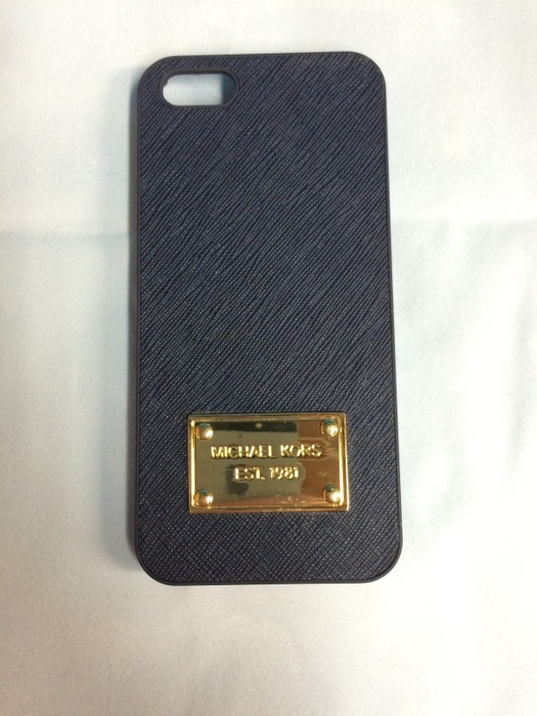 MICHAEL KORS Fashion Accessory MONOGRAM PHONE COVER IPHONE 5