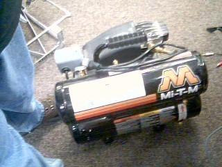 MI-T-M CORPORATION Air Compressor AIR COMPRESSOR
